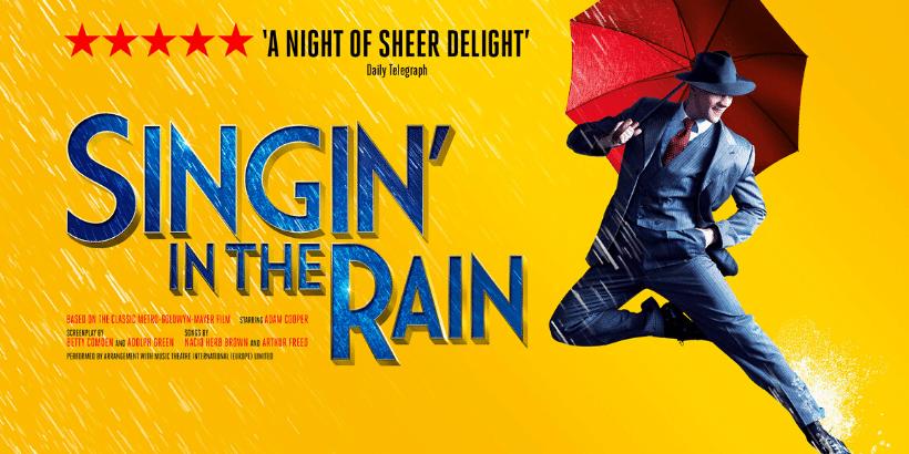 singing in the rain tour